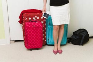 Ever wondered what goes into women's luggage? Image: Buzzle